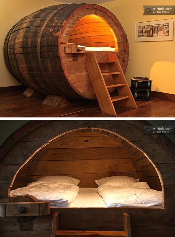 Кровать «Пивная бочка»