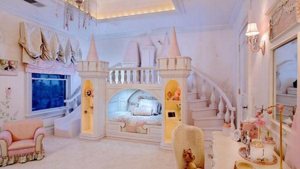 Кровать «Замок принцессы»