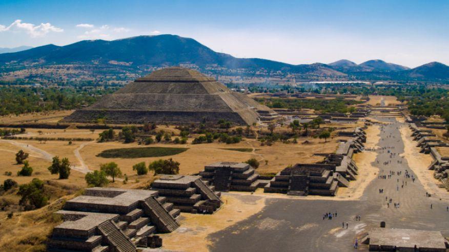 Пирамиды Теотиуакан, Мексика