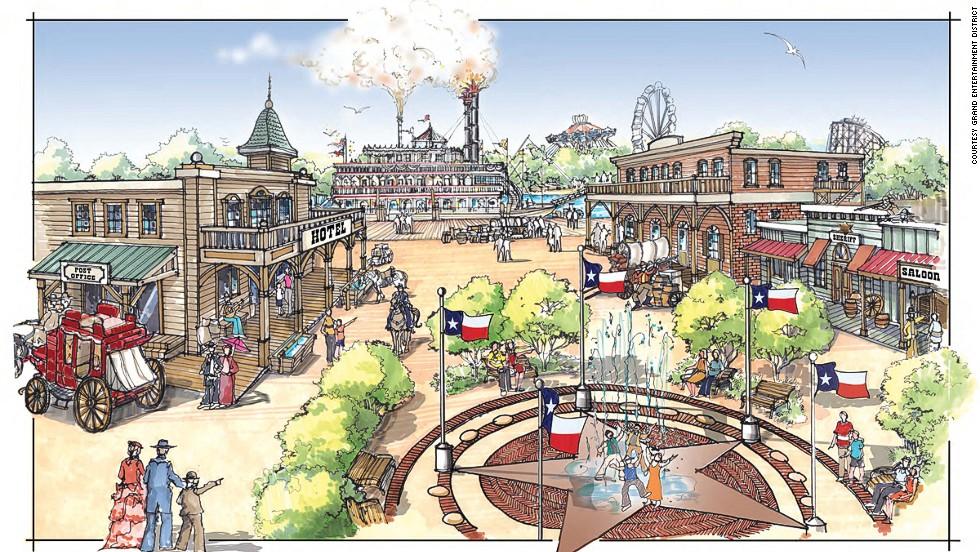 Спортивный и развлекательный район Техаса