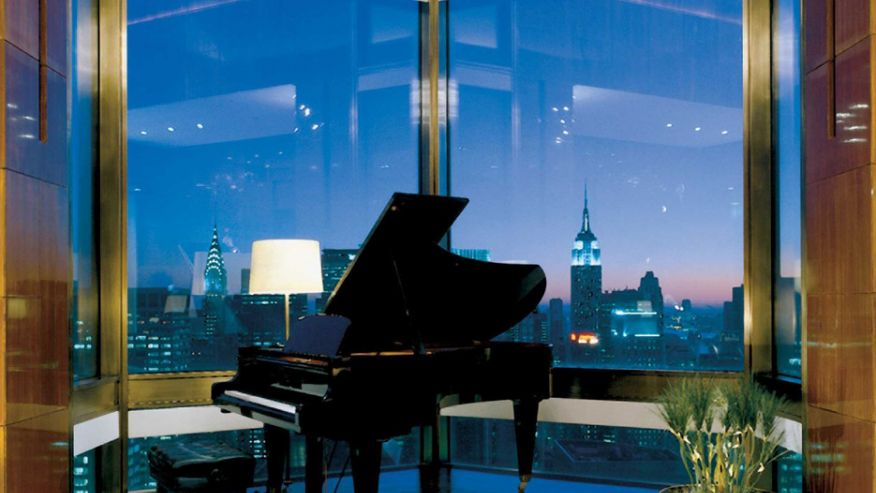 Ty Warner Penthouse в отеле Four Seasons, Нью-Йорк, США