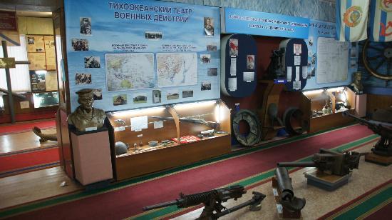 Военно-Исторический Музей Камчатской Флотилии - внутри