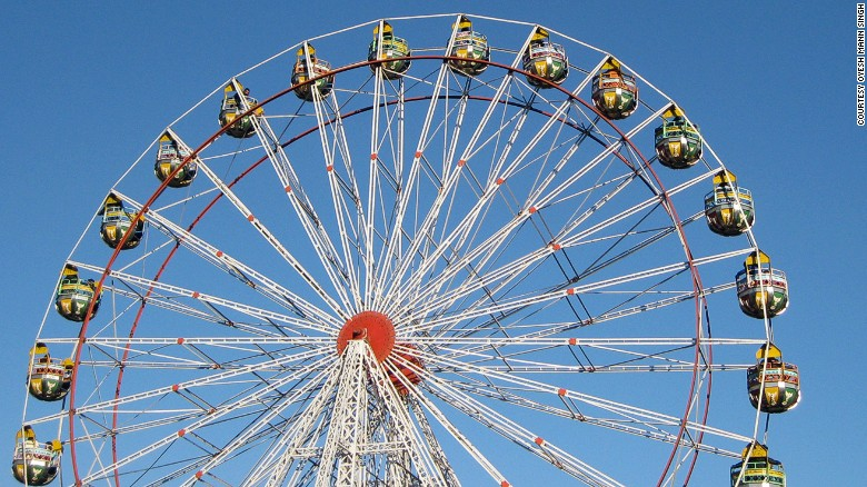 Колесо обозрения или колесо-несчастье