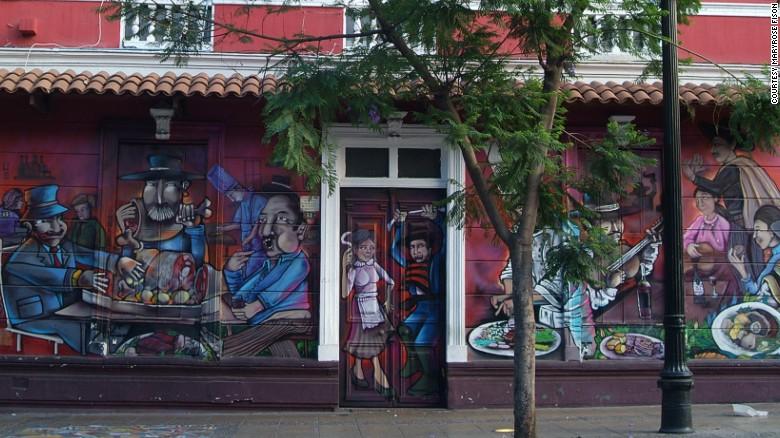 граффити реклама 1