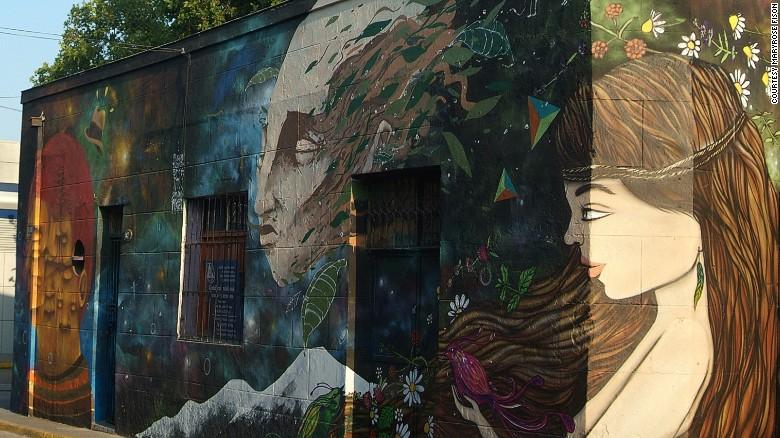 граффити реклама 2