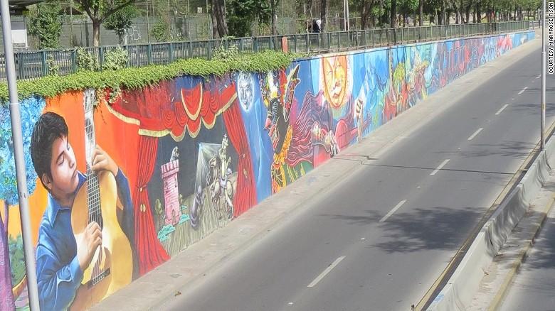 граффити реклама 7