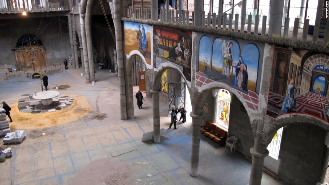 внутренности собора