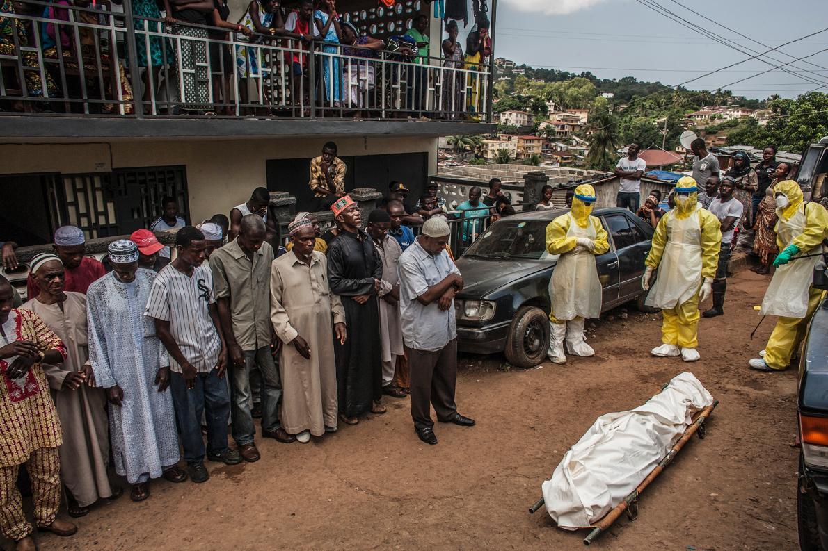 захоронение от эболы