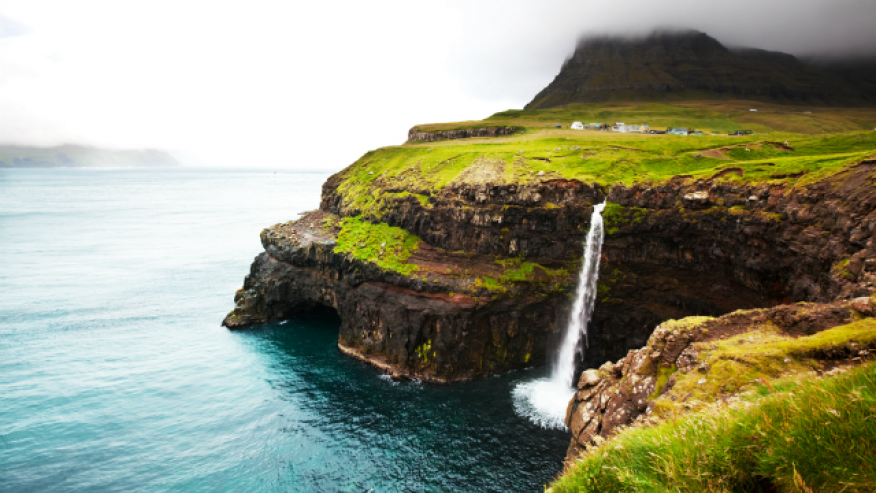 Боссдальсфоссур, Фарерские острова