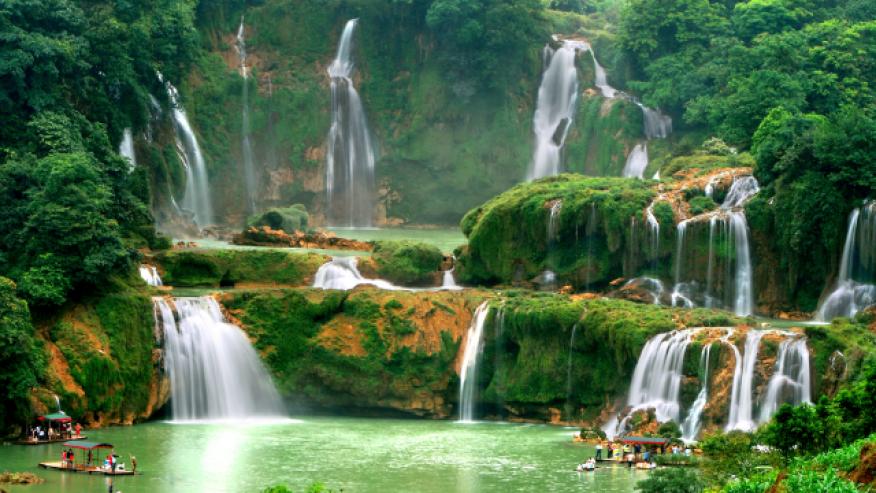 Дэтянь, Китай и Вьетнам