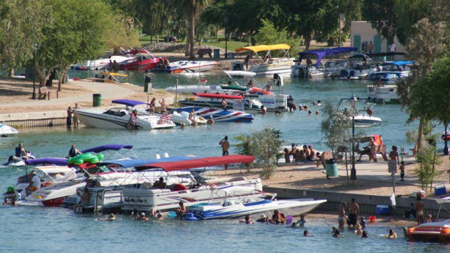 Озеро Хавасу-Сити, штат Аризона