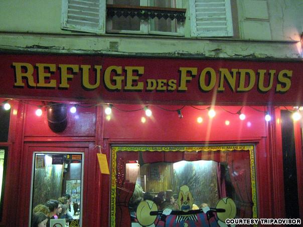 Ресторан Le Refuge des Fondues (Париж)