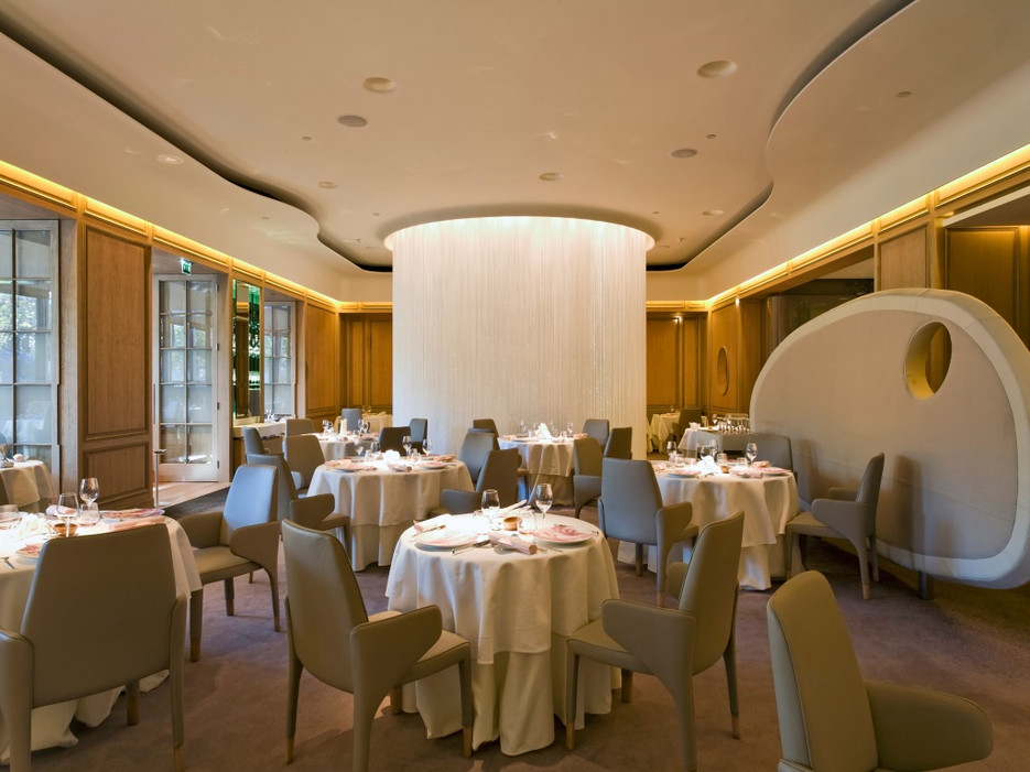 Alain Ducasse в отеле Дочестер, Лондон